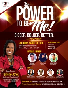Tamera P  Jones The Power to be Me! Event (2)